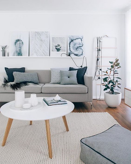 Como Decorar Un Sofa Blanco Con Cojines.Trucos Para Colocar Cojines En El Sofa El Blog De Due Home