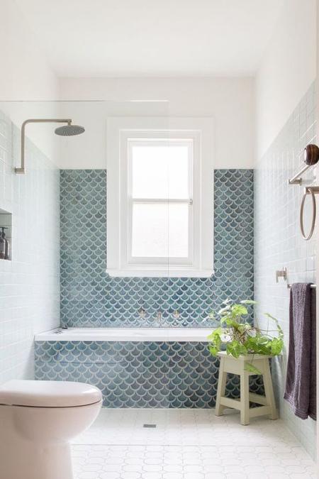 fotos de ideas de azulejos de bañera Trend ALert Deco Azulejos Sirena O Azulejos En Escama