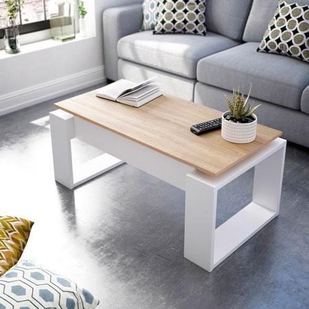 mesa de centro elevable nova 2
