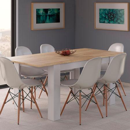 mesa de comedor extensible kendra 3