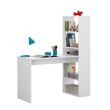 mesa de escritorio con estanteria duplo 1