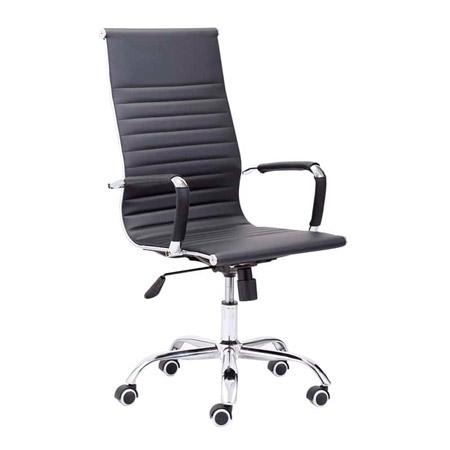 silla de oficina letter simil piel
