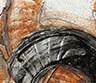 Abstracto Naranja - Plata