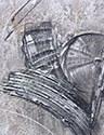 Abstracto Gris - Plata