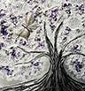 Árbol Mariposa - Lila Plata